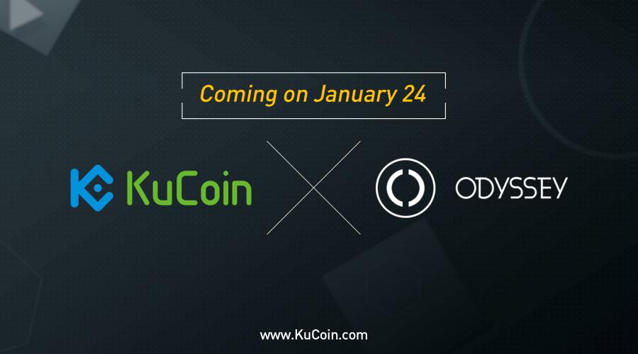 KuCoinに$OCN(ODYSSEY/オデッセイ)上場!仮想通貨アルトコイン取引所新規情報速報