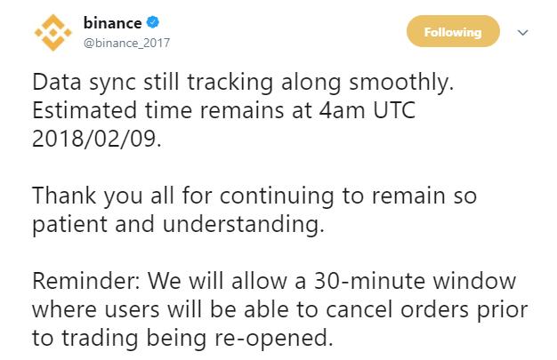 バイナンス再開予定は本日9日13時!仮想通貨海外取引所最新ニュース速報