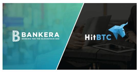 $BNK(BANKERA/バンクエラ)がHitBTCに上場決定!仮想通貨ICOアルトコイン新規上場最新情報