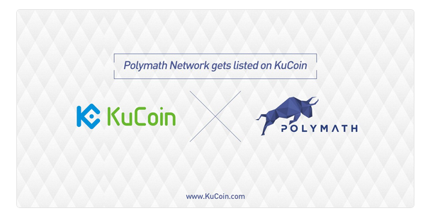 $POLY(Polymath Network)がKuCoinに上場!仮想通貨取引所アルトコイン新規上場最新ニュース速報Polymath Network($Poly) was listed on KuCoin!trading pairs:Poly/BTC, Poly/ETH.Digital currency exchange altcoin new listing news flash